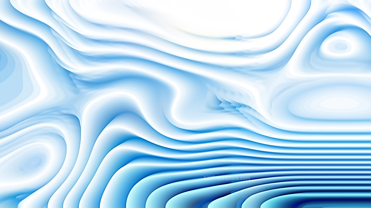 Blue and White Curved Background Texture