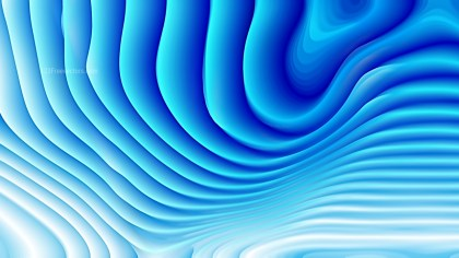 Blue and White 3d Curved Lines Texture Background