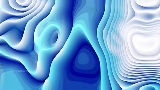 Abstract Blue and White Curvature Ripple Background Image