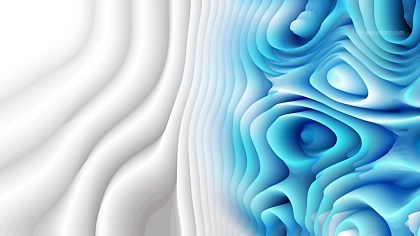 Abstract Blue and White Curved Lines Ripple Texture Background