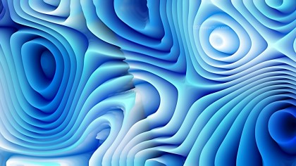 Abstract 3d Blue and White Curved Lines Texture