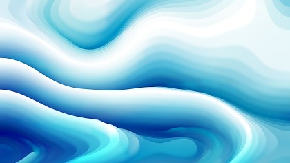 Blue and White Curve Texture