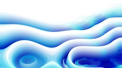 Blue and White Curved Lines Ripple Texture