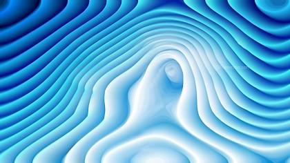 Blue and White Curvature Ripple Texture