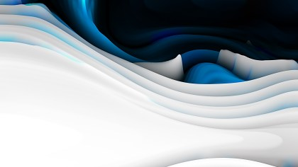 Abstract 3d Blue Black and White Curved Lines Ripple texture