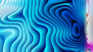 Bright Blue 3d Curved Lines Ripple texture