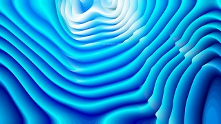 Abstract Bright Blue Curved Lines Ripple Texture