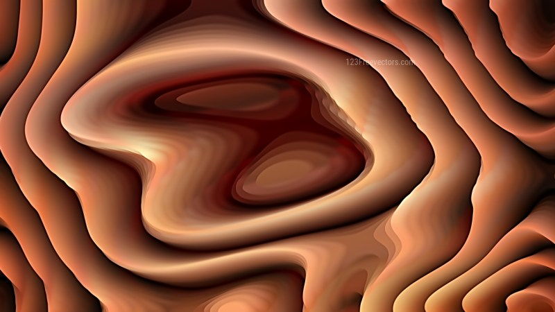 Brown Curved Lines Ripple Texture Background