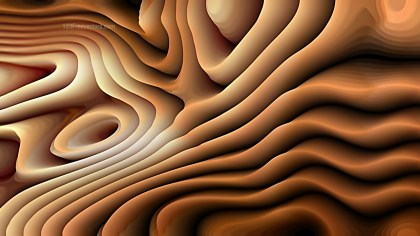 Brown 3d Curved Lines Texture