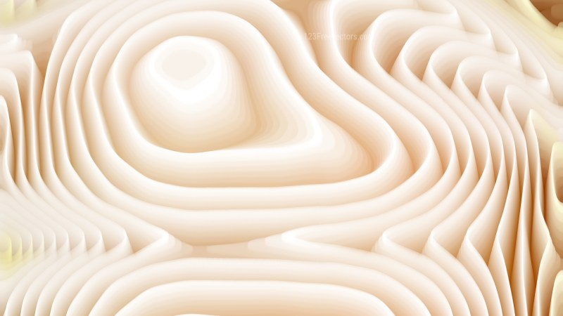 Brown and White Curved Lines Ripple Texture Background
