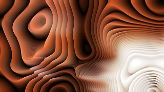Abstract 3d Brown Black and White Curved Lines Texture Background