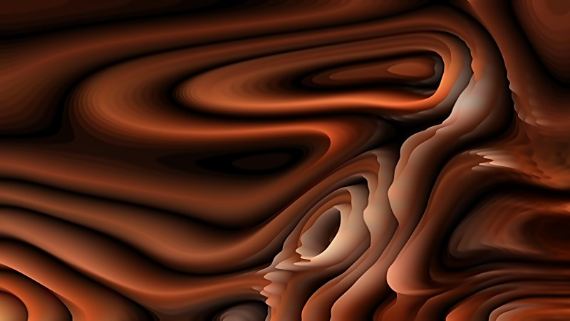 Coffee Brown 3d Curved Lines Ripple background
