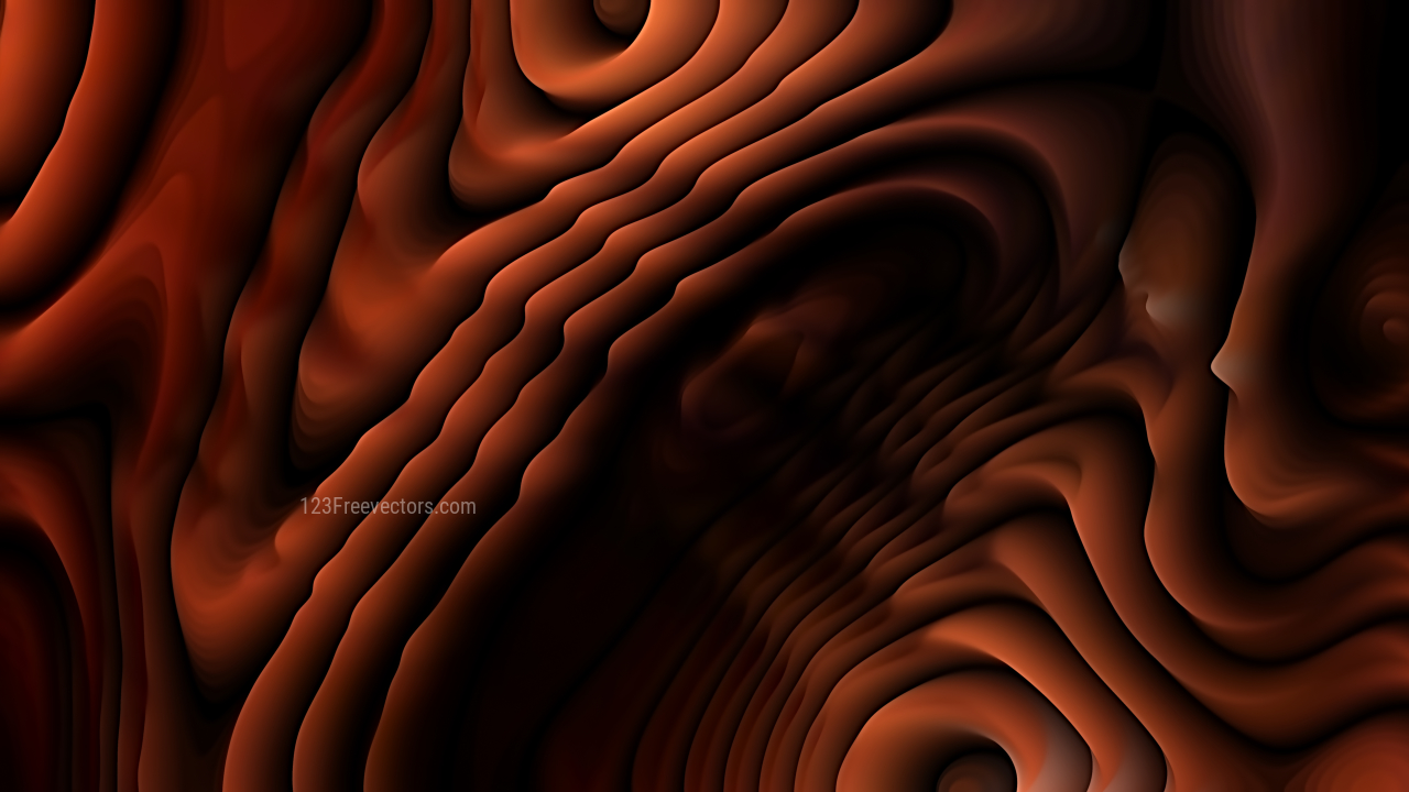 Abstract Cool Brown Curve Texture Image