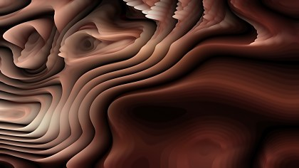 Abstract 3d Cool Brown Curved Lines Texture