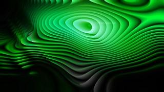 Cool Green Curved Lines Ripple Background