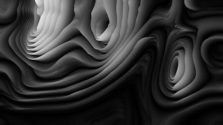 Cool Grey 3d Curved Lines Background