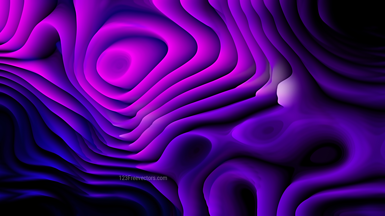 Cool Purple Curved Lines Ripple Background