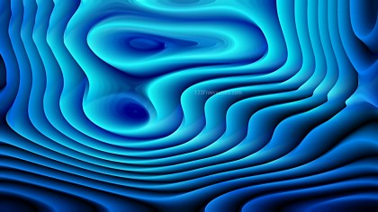 Abstract 3d Dark Blue Curved Lines Texture