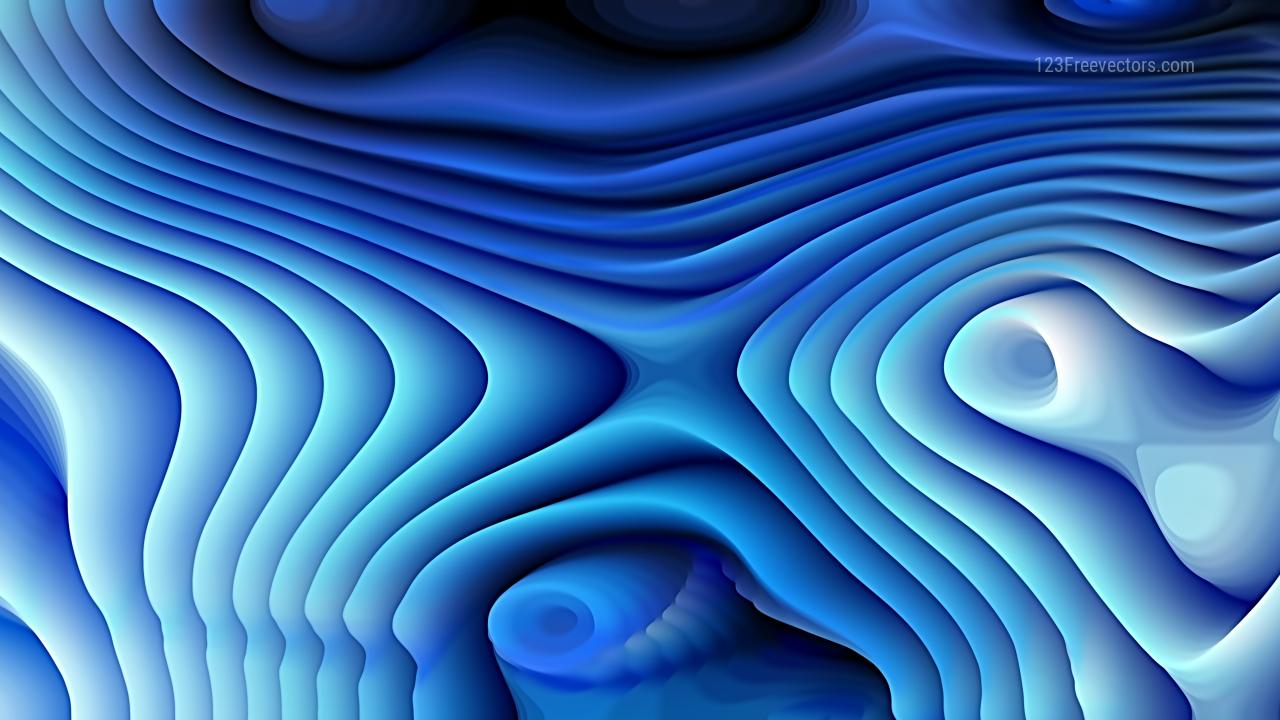 Dark Blue Curvature Ripple Background Image