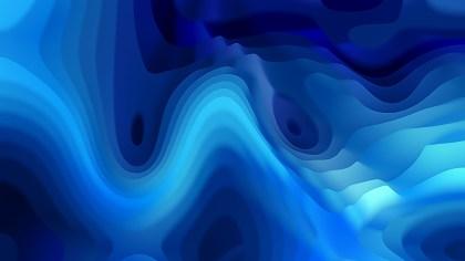 Dark Blue Curved Lines Ripple Background