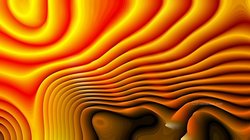 Abstract 3d Dark Orange Curved Lines Ripple background