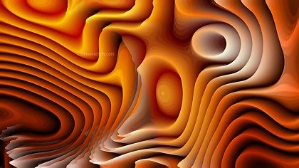 Dark Orange Curved Background Texture