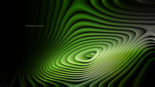 Abstract Green and Black Curvature Ripple Background Image