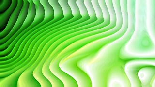 Abstract 3d Green and White Curved Lines Texture