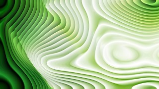 Green and White Curvature Ripple Background Image