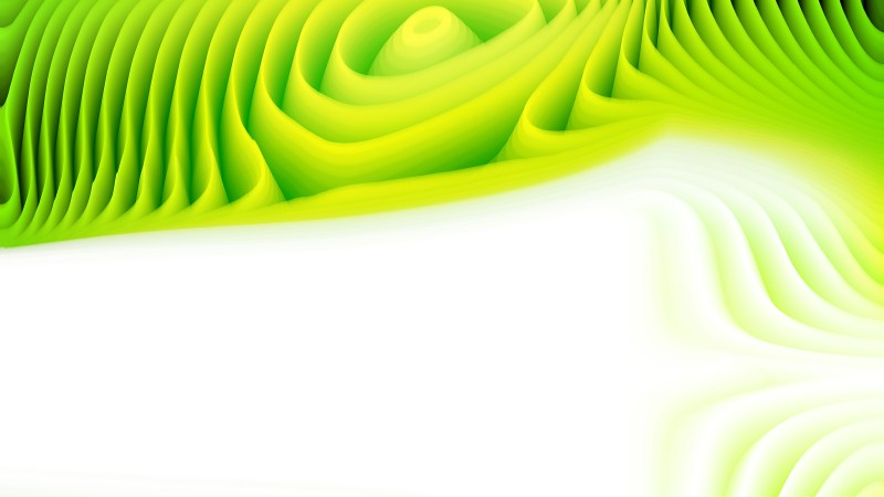 Abstract Green and White Curved Lines Ripple Background