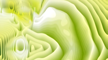 Abstract Green and White Curved Lines Ripple Texture Background