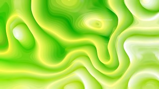 Green and White 3d Abstract Curved Lines Texture