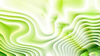 Green and White Curvature Ripple Background
