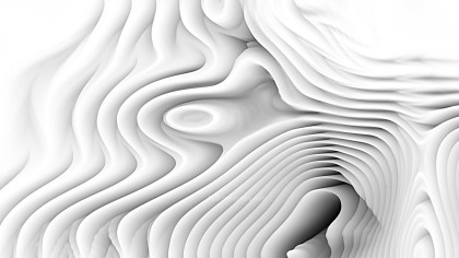 Abstract Grey and White Curved Lines Ripple Texture Background