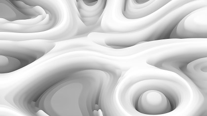 Grey and White Curved Lines Ripple Texture