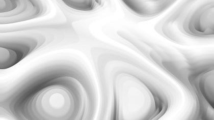 Grey and White 3d Curved Lines Background