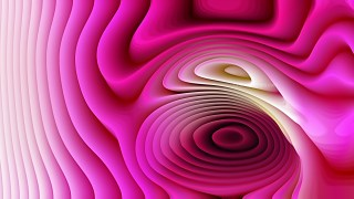 Hot Pink 3d Curved Lines Ripple background