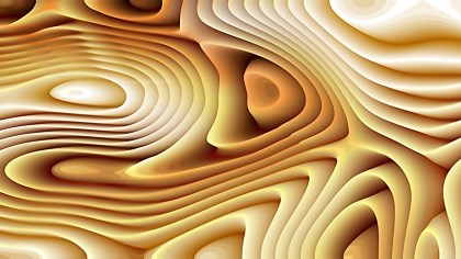 Light Orange Curved Lines Ripple Texture