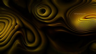Abstract Orange and Black Curvature Ripple Texture