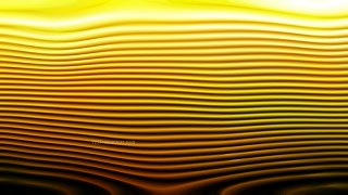 Abstract 3d Orange and Black Curved Lines Background