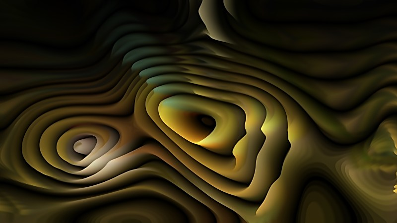 Abstract 3d Orange and Black Curved Lines Texture