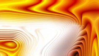 Orange and White 3d Abstract Curved Lines Texture