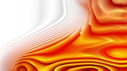 Abstract 3d Orange and White Curved Lines Ripple texture