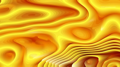 Orange and Yellow Curve Texture Image