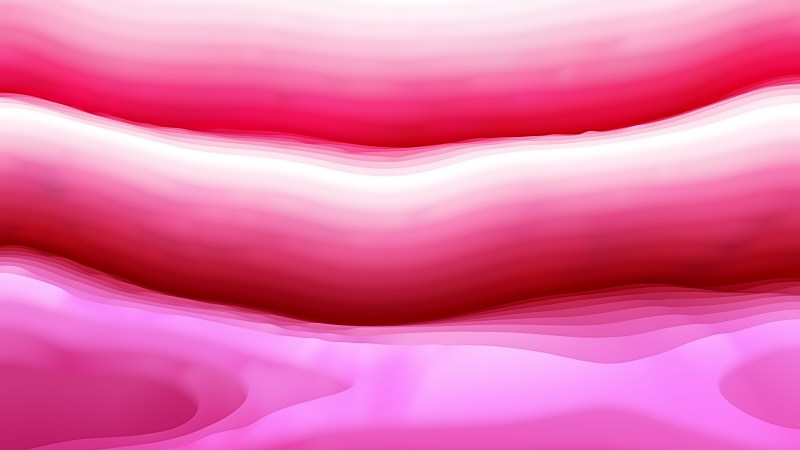 Abstract Pink and White Curvature Ripple Texture