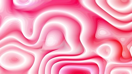 Pink and White 3d Curved Lines Texture