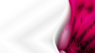 Abstract Pink and White Curved Lines Ripple Texture Background