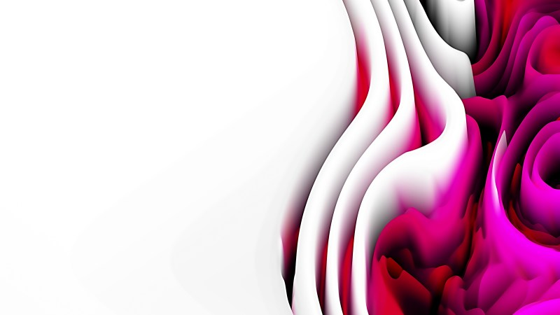 Pink Black and White Curvature Ripple Texture