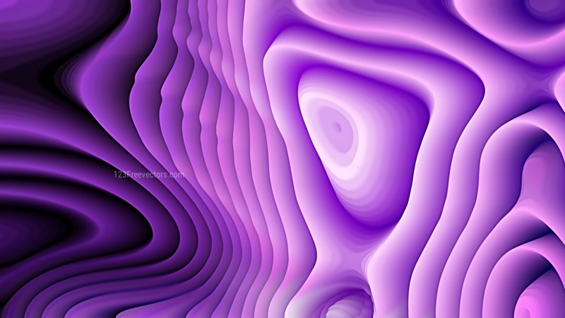 Purple and Black Curved Lines Ripple Texture
