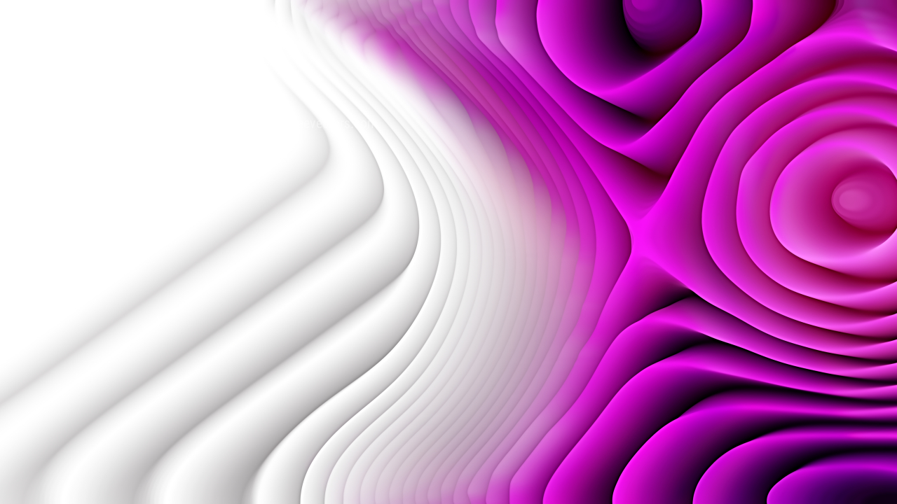 Purple and White Curved Lines Ripple Background